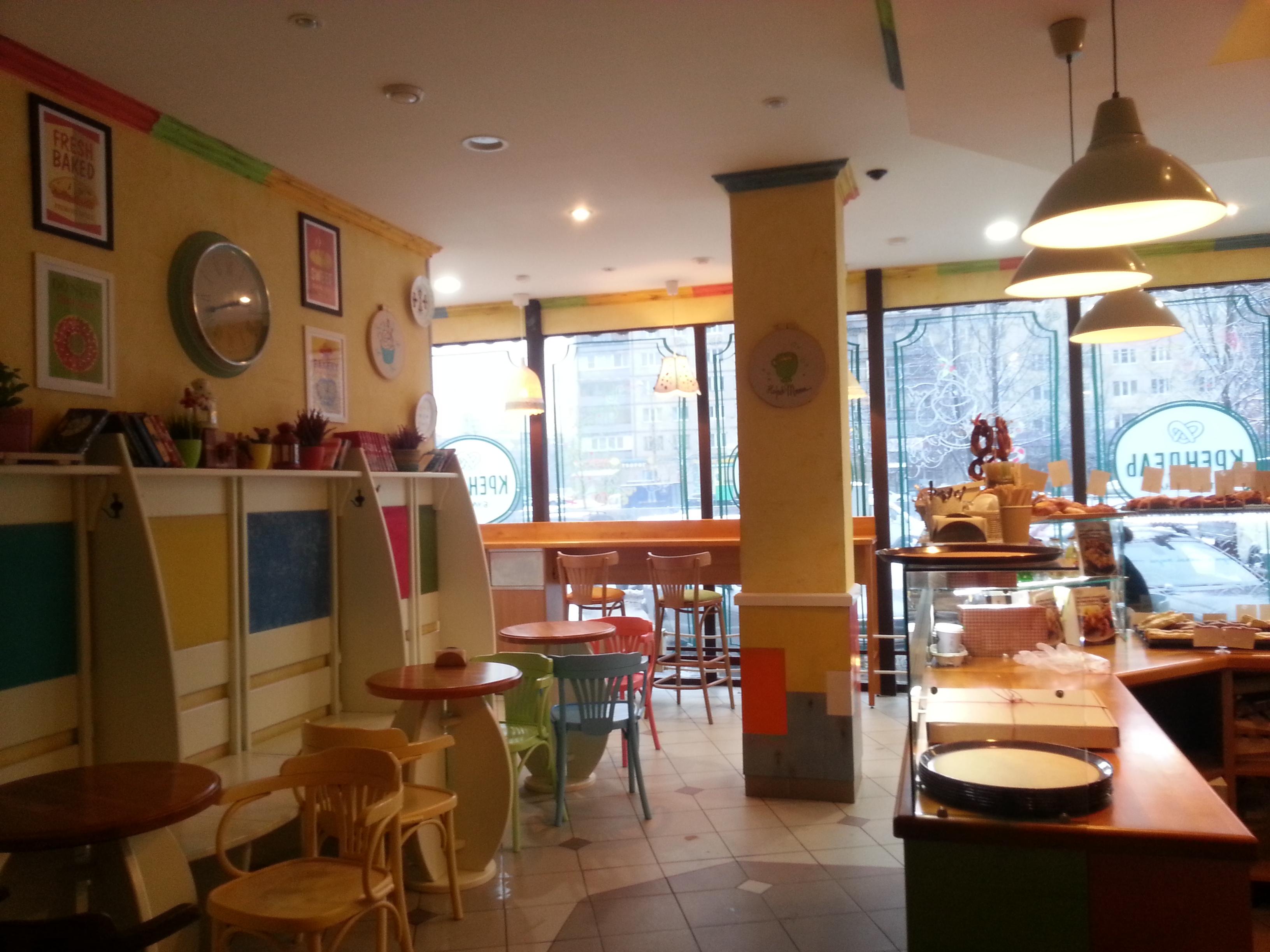 Дизайн проект кафе «Крендель»