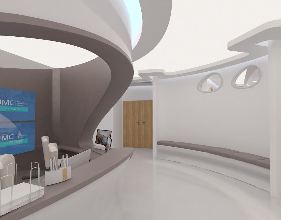 Дизайн проект клиники современной медицины