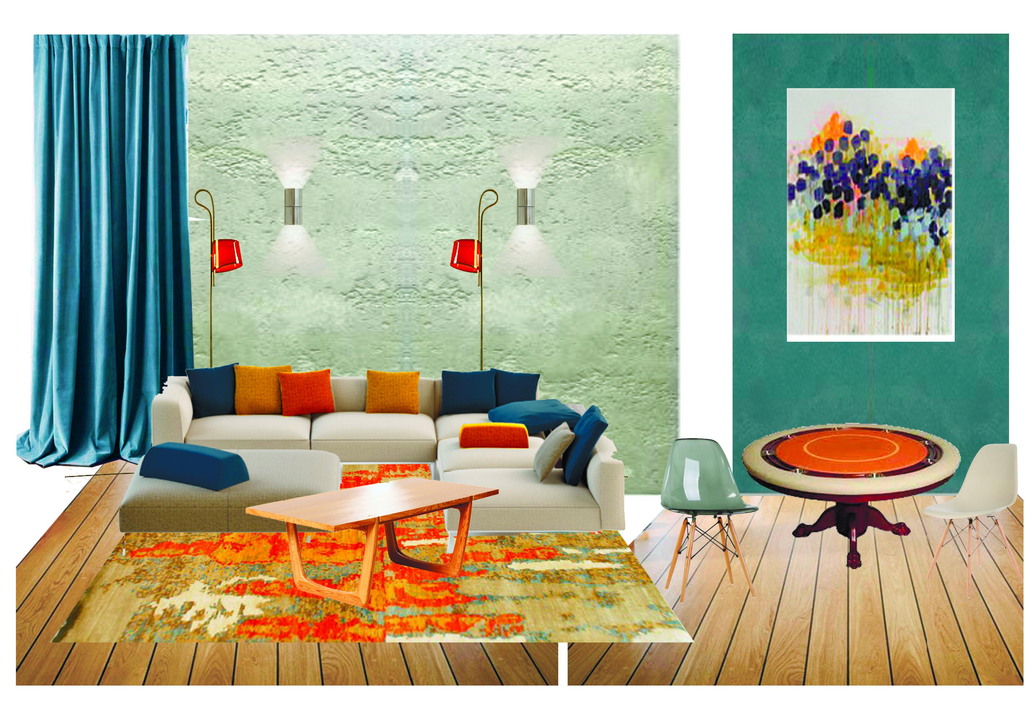 Дизайн проект интерьера загородного дома